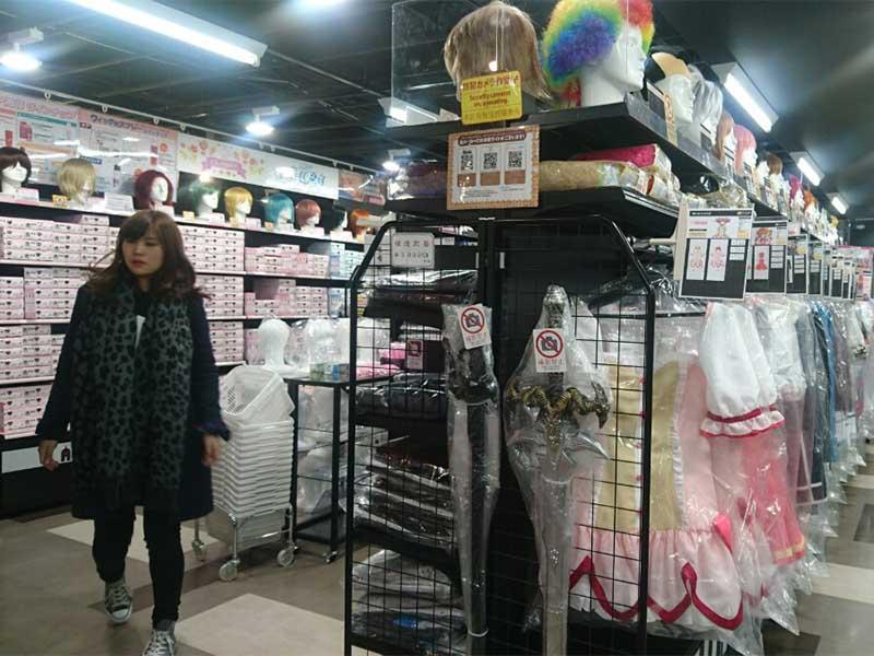 Let S Explore Akihabara Cosplay Shops