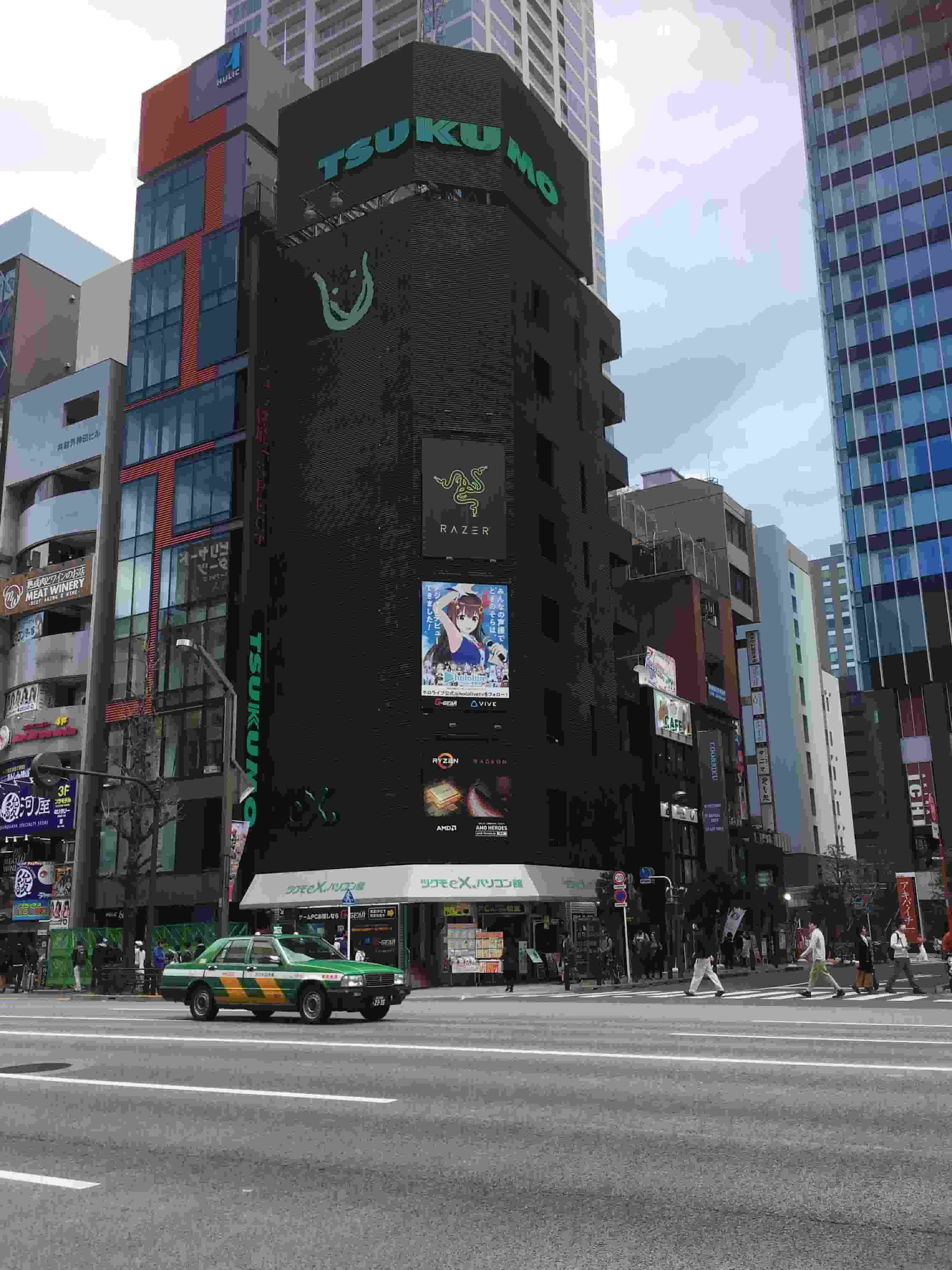 TSUKUMO is the Wisest Choice for PC Parts with Six Stores in